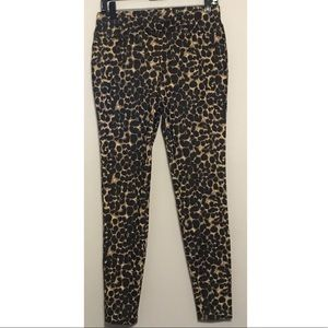 Cheetah Print Jeggings